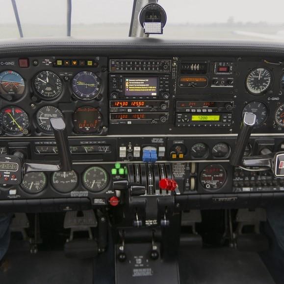Seneca Cockpit