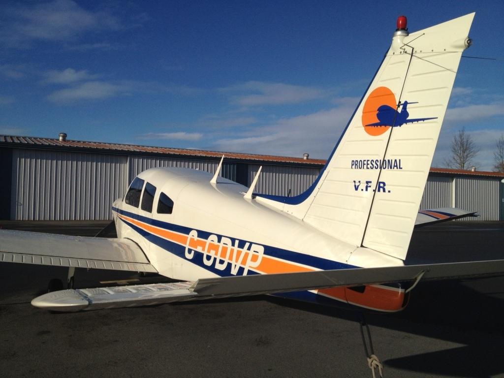 太平洋专业飞行培训中心(Pacific Professional Flight Centre)的Piper Warrior飞机