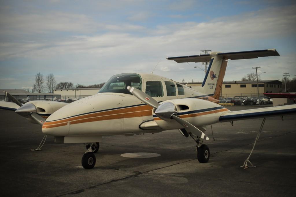 太平洋专业飞行培训中心(Pacific Professional Flight Centre)多发动机仪表飞行资质课程。